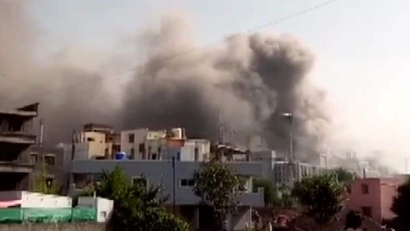 Fire breaks out at Terminal 1 gate of Serum Institute of India in Pune pod