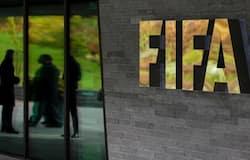 <p>FIFA logo</p>