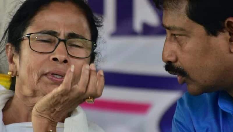 Rajib Banerjee attacks CM Mamata Banerjee at BJPs Dumurjala program RTB