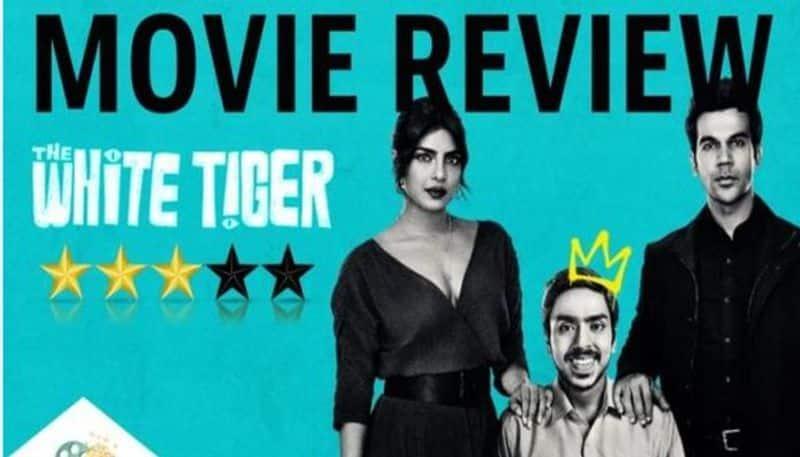Priyanka Chopra  The White Tiger movie review jsp