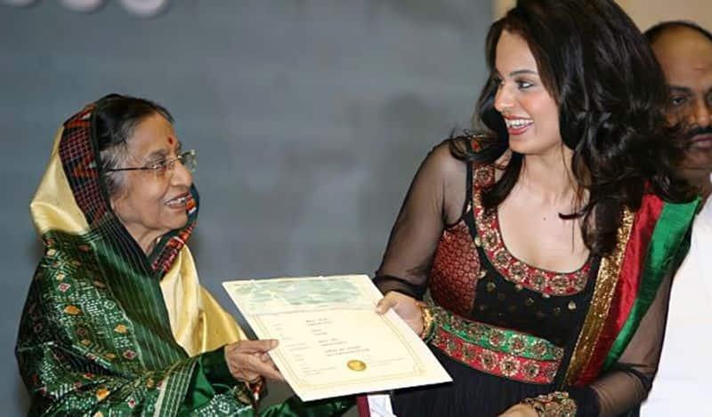 2008 ರಲ್ಲಿ ಕಂಗನಾ ರಣಾವತ್ ಮೊದಲ ನ್ಯಾಶನಲ್ ಆವಾರ್ಡ್ ಪಡೆದರು. ಫ್ಯಾಷನ್ ಸಿನಿಮಾದ ಪಾತ್ರಕ್ಕಾಗಿ ಗೆದ್ದ ಪ್ರಶಸ್ತಿಯನ್ನು ಅಂದಿನ ರಾಷ್ಟ್ರಪತ್ತಿ ಪ್ರತಿಭಾ ಪಾಟೀಲ್ ಅವರಿಂದ ಪಡೆದರು.