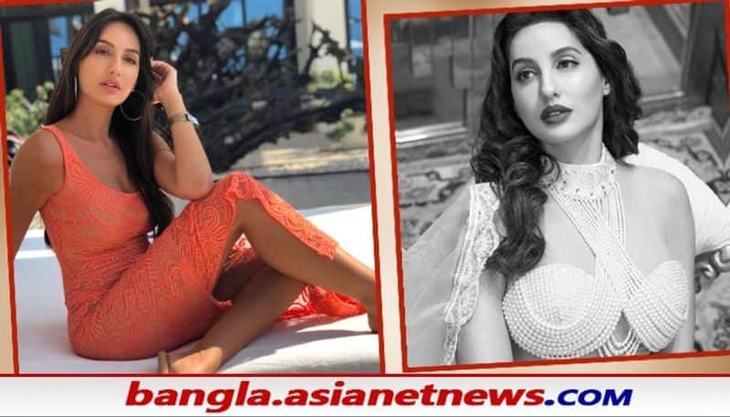 bollywood actress Nora Fatehi flaunts her cleavage goes super viral in social media BRD