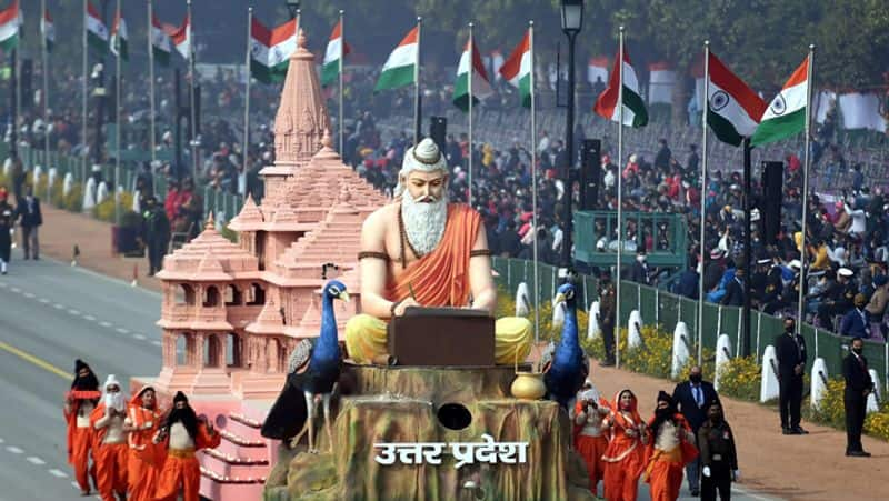 Uttar Pradesh tableau depicting Ayodhyas cultural heritage at Republic Day parade wins 1st prize