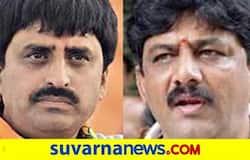<p>DK Shivakumar and CP Yogeshwar</p>