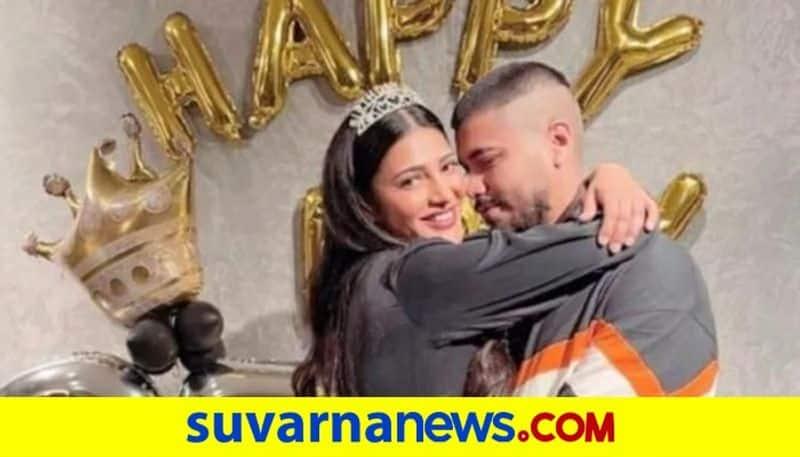 Shruti Haasan dating a Delhi based doodle artist Shantanu Hazarika dpl
