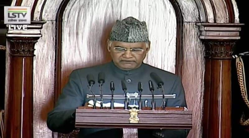 budget session 2021 farm laws paused by sc president ram nath kovind says in parliament bsm