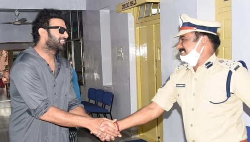 prabhas meet ramagundam cp satyanarayana at his office - bsb