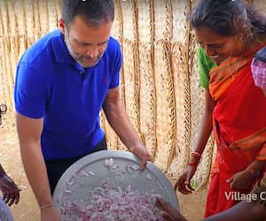 Rahul Gandhi joins Village Cooking YouTube Channel-YCB