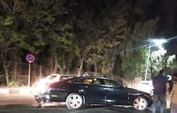 <p>Jaguar car accident</p>