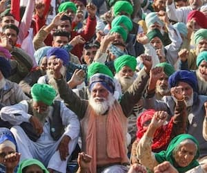 farmer protest update protest outside parliament will start on 22 july says farmer union bsm