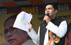 "<p>While attending a public meeting, Nadda said, ""Wherever I go, I see Mamata Banerjee and her nephew's picture. The people of Bengal are ready to say goodbye to Mamata.""<br /> &nbsp;</p>"