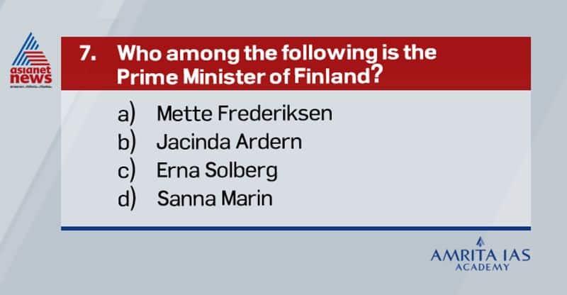 Answer: dMette Frederiksen - Denmark PMJacinda Ardern    - New Zealand PMErna Solberg      - Norway PM