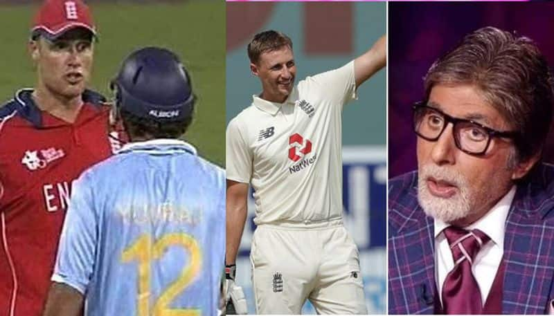 Andrew Flintoff counter to Amitabh bachchan after five years, about Joe Root Comment CRA