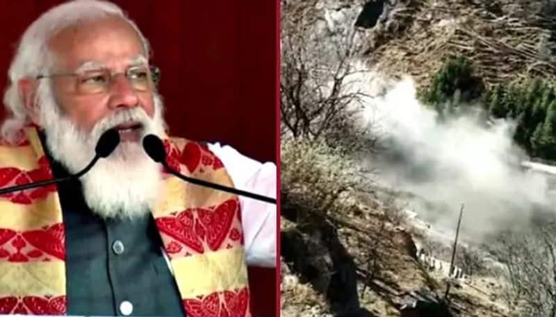 PM narendra modi approves ex gratia of Rs 2 lakh for kin of deceased in Uttarakhand Glacier Burst ksp