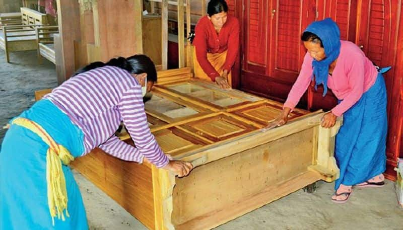 Manipur Women in this village take to carpentry, earn sufficiently well to augment family income