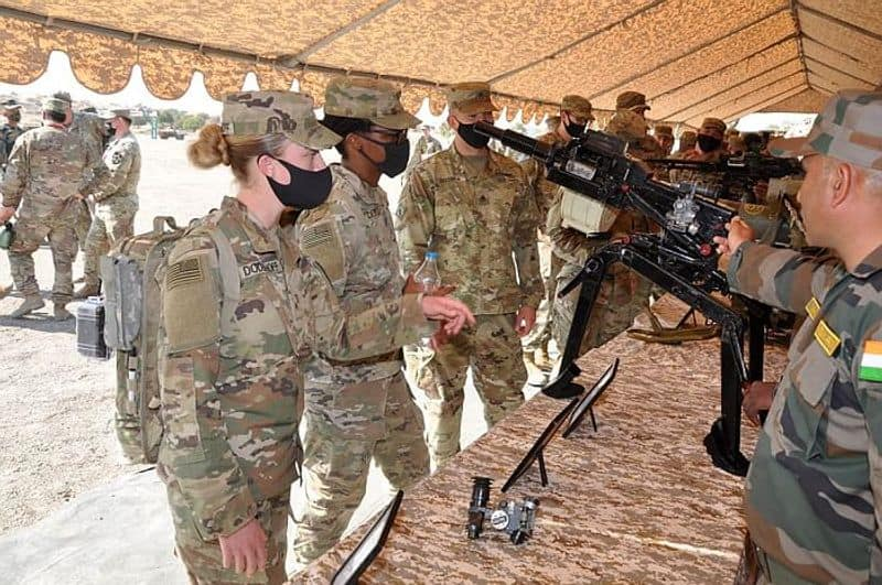 The drill will culminate on February 21.The 14-day exercise would focus upon joint training on counter-insurgency environment under United Nations mandate.The drill is being held days after the air forces of India and France had a five-day joint exercise in Rajasthan last month.