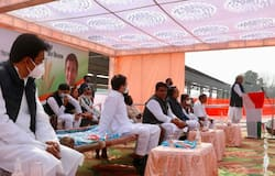 <p>Rahul Gandhi, Rahul Gandhi in Rajasthan, Kisan Mahapanchayat in Rajasthan, Kisan agitation, Jat community, Jat community in Rajasthan</p>