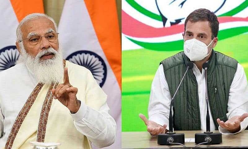 Centre solely responsible for bodies flowing in Ganga Rahul Gandhi pod