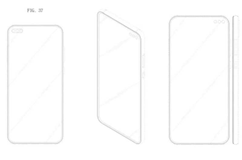 samsung working on a triple selfie camera phone sketches surface may feature in upcoming-phones