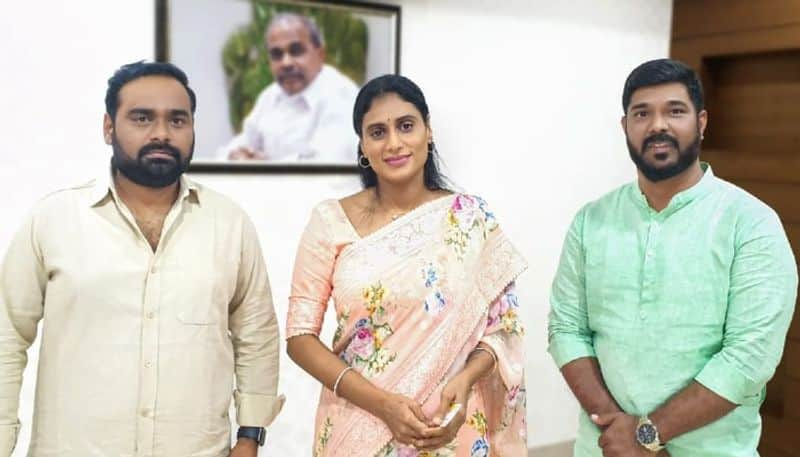 ys sharmila released ee kathalo paatralu kalpitam movie second song  arj