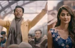"""<p style=""""text-align: justify;"""">The last few films by Prabhas were high octane action dramas. But Radhe Shyam is a different tale altogether. And since the posters of Prabhas and Pooja Hegde, who plays the lady love of Prabhas in the movie, have been out, fans can't stop wondering about the star. His appearance contributes to the allure. Prabhas is seen romancing Pooja in one poster while he is hanging off a moving train. On the other side, Prabhas and Pooja can be seen dancing hand-in-hand together, dressed quite spotlessly in gold and red. The photographs ooze the chemistry and comfort that they share. No wonder people are so excited about watching the movie that they can no longer keep their nerves calm.</p>"""
