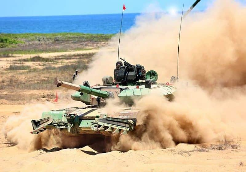 """""""MBT Arjun with its first-round hit probability has one of the most accurate tank guns in the world. This majestic tank has indigenous Kanchan Armour strapped with reactive armour panels,"""" a DRDO official said.In close association with DGQA, eight DRDO laboratories, many DPSUs, more than 200 MSMEs, large scale industries and over 15 academic Institutions participated in the MBT Arjun programme.After using the tank in different conditions, the Indian Army had recommended a number of improvements to MBT Arjun Mk 1, which enhanced the mobility and firepower of MBT Arjun Mk 1A. With these changes, this upgraded version has successfully undergone extensive trials by the Indian Army.The precise target tracking of the tank ensures accurate engagement during day and night in both static and dynamic conditions.The indent for 118 tanks will be placed shortly on Heavy Vehicle Factory, Avadi."""