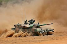 <p>Prime Minister Narendra Modi on Sunday handed over the indigenously-built Arjun Main Battle Tank (MK-1A) to the Indian Army.<br /> &nbsp;</p>  <p>On the occasion, Indian Army chief Gen MM Naravane and DRDO Chairman G Sateesh Reddy were also present.&nbsp;<br /> &nbsp;</p>  <p>Designed, developed by DRDO's Chennai-based Combat Vehicles Research and Development Establishment and manufactured by Avadi-based Ordnance Factory Board, the tank weighs 68 tonnes and features a 120mm main gun with 71 other upgrades.&nbsp;<br /> &nbsp;</p>  <p>As per the report, a total of 118 Arjun tanks will be inducted into the army.&nbsp;<br /> &nbsp;</p>  <p>The Ministry of Defence has approved the induction of 118 Arjun tanks worth Rs 8,400 crore.&nbsp;<br /> &nbsp;</p>  <p>These tanks would form two regiments in the Armoured Corps and add to the first batch of 124 Arjun tanks which have already been deployed on the western deserts along the Pakistan front.</p>