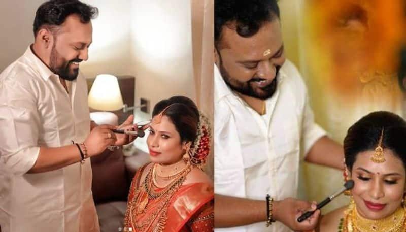 celebrity makeup artist vikas wedding video viral