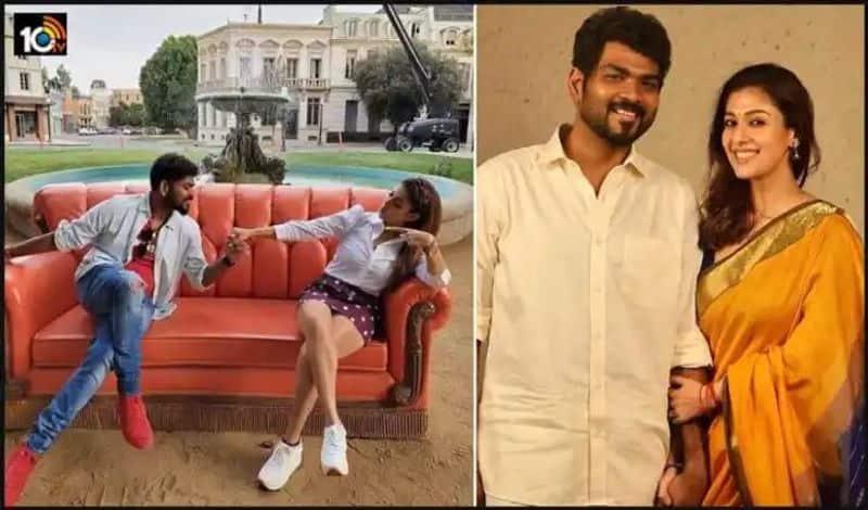 Vignesh and nayanatara celebarates valentine day in style ksr