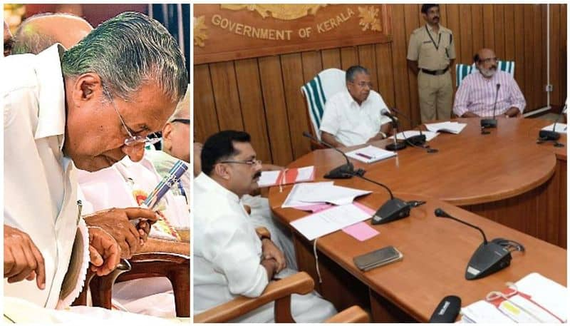 cabinet meeting decision on rank holders protest