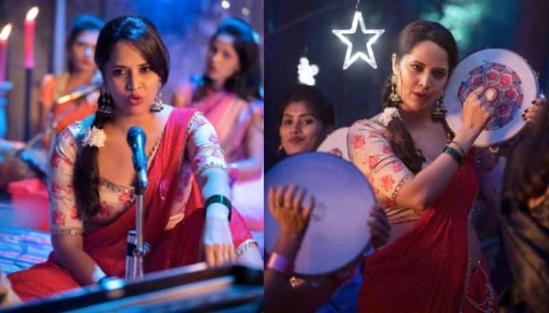 netizen question to anasuya for acting in item song ksr