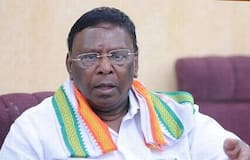<p>The Congress government in Puducherry was reduced to a minority after yet another MLA resigned from the party.<br /> &nbsp;</p>  <p>Kamaraj Nagar MLA John Kumar tendered his resignation today. With this, the strength of the Congress party in the 30-member House has come down to 10.<br /> &nbsp;</p>  <p>With this, the number of MLAs who have resigned from the Congress so far now stands at four.</p>