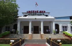 <p><em>(Puducherry assembly before the exit of 5 Congress MLAs)</em><br /> &nbsp;</p>  <p>The setback comes a day before Rahul Gandhi is scheduled to visit the Union Territory.<br /> &nbsp;</p>  <p>Just yesterday, senior leader and Yanam MLA Malladi Krishna Rao had resigned weeks after former PWD Minister A Namassivayam and ETheeppainjan on January 25.&nbsp;<br /> &nbsp;</p>  <p>Another Congress leader N Dhanavelu was disqualified in July last year for alleged anti-party activities.&nbsp;<br /> &nbsp;</p>  <p>Sources say Chief Minister Narayanasamy will have no option but to resign despite the support of the Dravida Munnetra Kazhagam's three MLAs.</p>