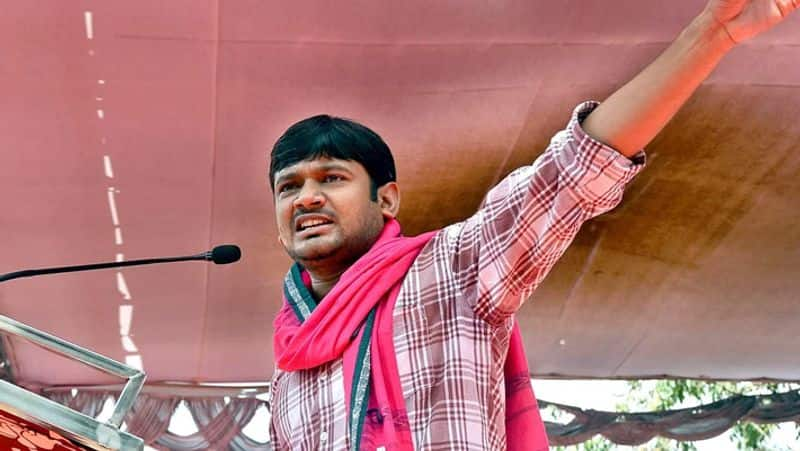 The young leader Kanhaiya Kumar of another party ... the general secretary d.Raja of the screaming party ..!