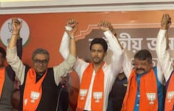 "<p style=""text-align: justify;""><strong>Under BJP's team,<br /> Babul Supriyo</strong><br /> Babul Supriyo, singer cum actor has been in BJP's lead team for a long time.&nbsp;</p>"