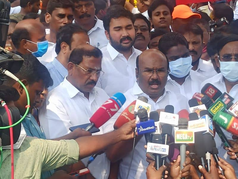 Postal ballot boxes should not be opened on May 1st...minister jayakumar