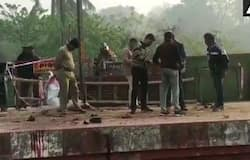 <p>MLA Jakir Hossain and 10 TMC workers were severely injured after a crude bomb exploded at platform no 2 of Nimtita station in Murshidabad where they were standing to catch train at around 10 pm on February 17.<br /> &nbsp;</p>