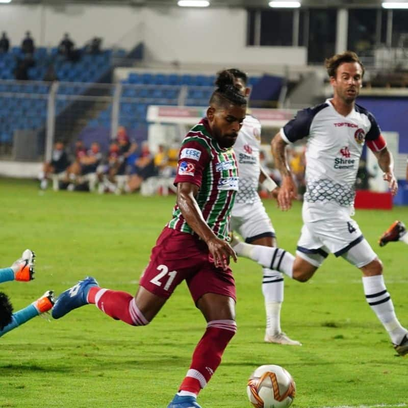 <p>Indian Super League giant ATK Mohun Bagan is coming off an impressive 3-1 win over SC East Bengal in the 2020-21 Indian Super League on Friday. While ATKMB has already qualified for the playoffs, SCEB is already out of the race.</p>