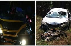 <p>Vehicle accident</p>