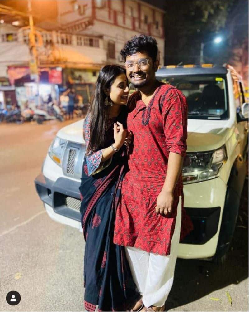 Shovan ganguly shares a romantic photos with swastika dutta goes super viral on social media BRD