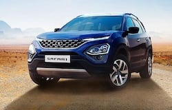 <p>Tata Motors today unveiled the 2021 Tata Safari with prices starting from Rs 14.69 lakh (ex-showroom, Delhi) and go up all the way to Rs 21.45 lakh for the Adventure Edition sporting an automatic transmission.<br /> &nbsp;</p>  <p>The 2021 Tata Safari is powered by a Kryotec 2.0-litre turbocharged diesel engine, which delivers 170PS of maximum power and 350Nm of peak torque. The same engine is featured in the Tata Harrier as well.<br /> &nbsp;</p>  <p><em>Photos: Courtesy Tata Motors</em></p>