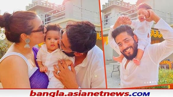 Raj chakraborty shares adorable video of yuvaan first time stand without any help BRD