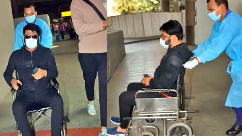 kapil sharma loss his temper at airport BJC
