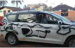 <p>Car vandalized</p>