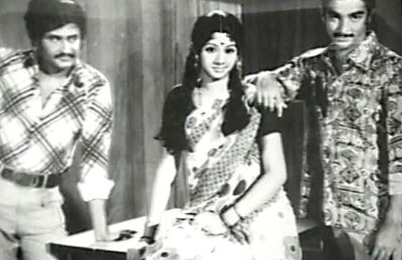 sridavi played mother role at her age of 13 BJC
