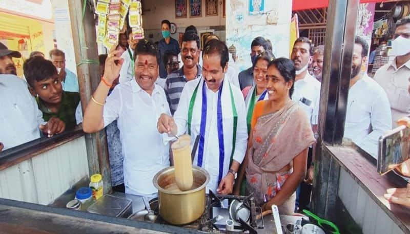 ministers kannababu, vellampalli election companing in andhrapradesh - bsb