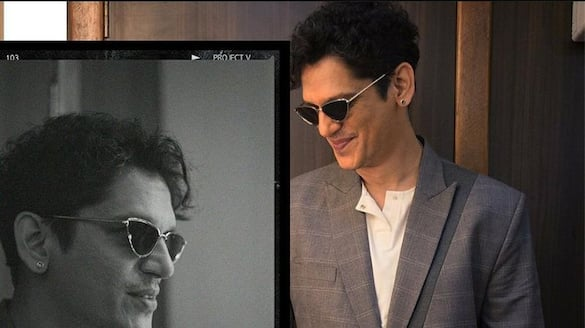 Vijay Varma gives a tutorial on how 'not' to pose, Check post-SYT