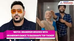 A man shakes legs with grandmother to Badshah's 'Top Tucker'; Watch the video - gps