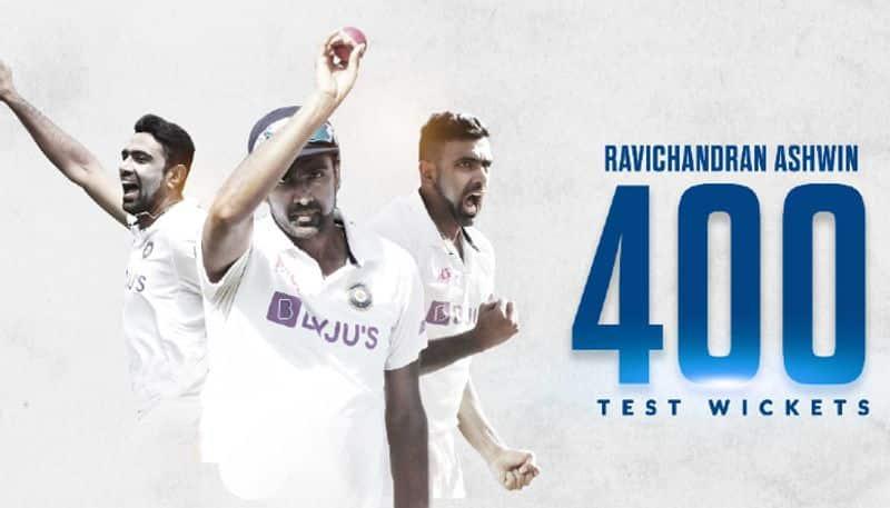 <p>ভারতীয়দের মধ্যে সব থেকে কম ম্যাচ খেলে টেস্ট ক্রিকেটে ৪০০ উইকেটের মালিক হয়েছেন রবিচন্দ্রন অশ্বিন। ৭৭ ম্যাচে এই নজির গড়েছেন তারকা অফ স্পিনার।</p>