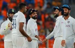 <p>১০ উইকেটে পিঙ্ক বল টেস্ট জয় ভারতের, বিশ্ব টেস্ট চ্যাম্পিয়নশিপ ফাইনালের আরও কাছে টিম ইন্ডিয়া</p>